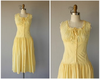 1970s Dress | Indian Cotton Dress | 70s Dress | 1970s Dress | 70s Sundress  | 1970s Midi Dress
