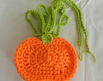 Crocheted Pumpkin Garland/ Fall Crocheted Garland