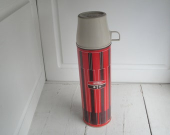 Vintage Thermos King Seeley Tall Red