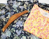 SALE - Laura Ashley Dress, Free Laura Ashley floral top and wood hanger