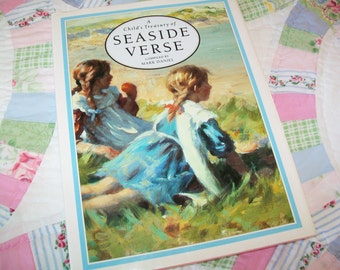 Vintage Seaside Verse Book, A Child's Treasury, 1991
