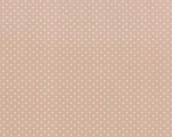 Kindred Spirits.. By Bunny Hill..dot print.   Moda Taupe 2896-23
