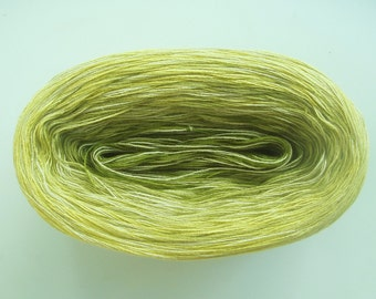 LIMEY MEDLEY II  Color Changing Cotton yarn  480 yards/100 gr  Fingering Weight