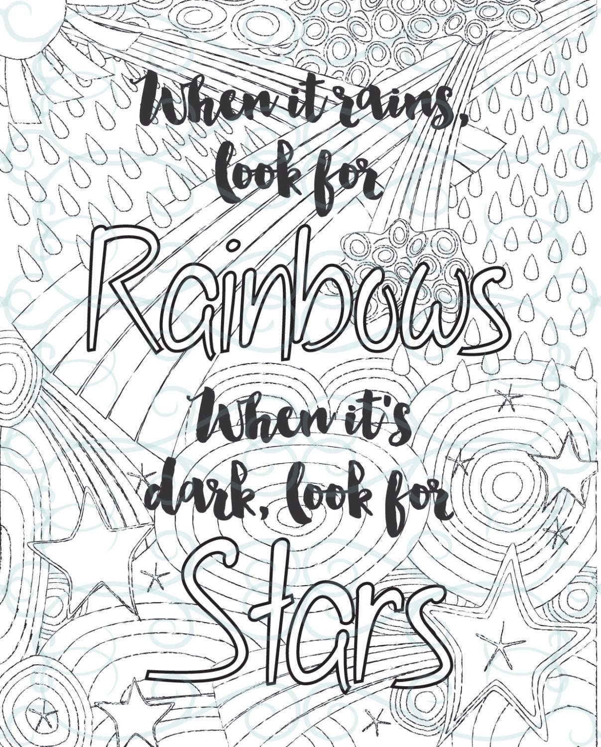 Inspirational Quotes Coloring Pages For Adults : Free coloring pages inspirational adult