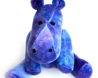 Hippo Stuffed Plush Toy