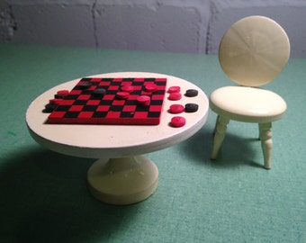 Rinco co LTD checker table & chair