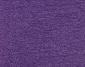 Girl Charlee Solid Purple Jersey Knit Fabric By the Yard