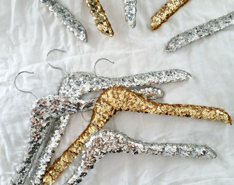 ORIGINAL SILVER Sequin Hanger