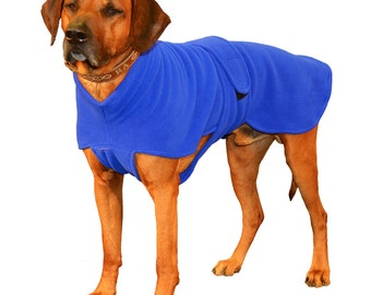 Italian Greyhound Fleece Dog Coat, Custom made for your dog