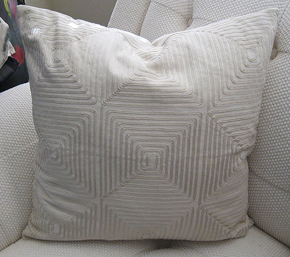 Decorative Pillows 20x20 Pillow Cover Accent by SPCustomDrapery