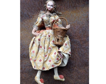 Antique Spanish doll from Valencia