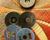 """3/4"""" Magnetic Snaps Antique Brass New Ohio Travel Bag Free Shipping"""