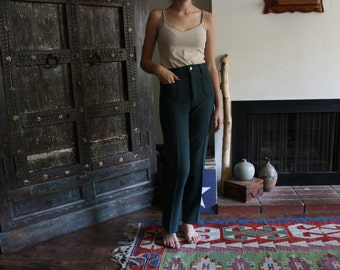 vintage Ox River high waist flared pants