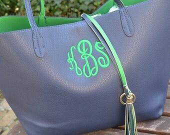 Catalina Monogrammed Handbag
