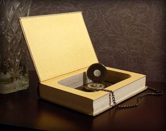 Hollow Book Safe (Vintage 1943 Epictetus Discourses)