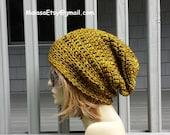 Slouchy Hat, Beanie Hat, Gift Merino Hat, Womens Mens Hat, Fashion Hat, Beanie Hat CHEMO Hat, Merino Hat, Beret Slouchy Hat, All Seasons Hat