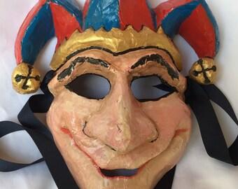 Jester Paper Mache Mask