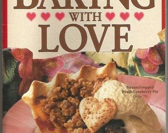 "Vintage 1993 Betty Crocker ""Baking with Love"" Cookbook"