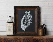 Fatal Hand -  Screen Print - Limited