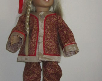 Traditional Chinese Costume for an American Girl or other 18 inch doll.