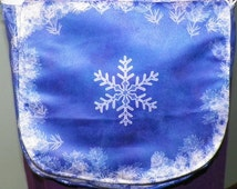 Winter Jack Frost Satchel Made to Order
