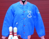 1970's baseball jacket, Esso Perfect 10, men's size large