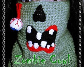 Zombie Crochet Pattern PDF-INSTANT DOWNLOAD