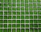 100 MINI Hunter Green Crystal Glass Mosaic Tiles 3/8 in.//Mosaic Supplies//Mosaic//Crafts