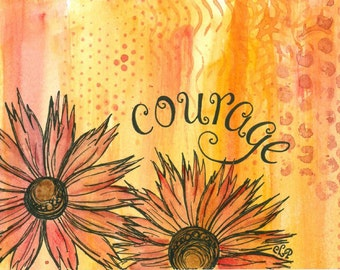 Courage III 5x7 Art Print