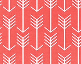 Arrow - Coral Fabric by the Yard by Premier Prints