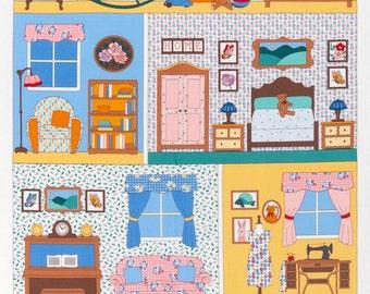 Vintage Dollhouse Panel