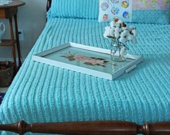Shabby Chic Bed & Breakfast Tray