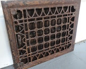 Old Salvaged Floor or Wall Grate