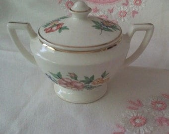 Cute Vintage Sugar Bowl No Markings
