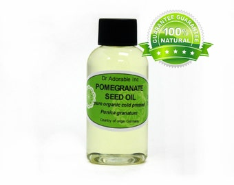 2 Oz Pomegranate Seed Oil 100% Pure & Organic Cold Pressed