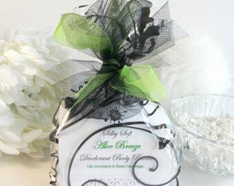 BREAKFAST at TIFFANYS body powder refill 6 oz - silky dusting powder - deodorant skin care by Bonny Bubbles