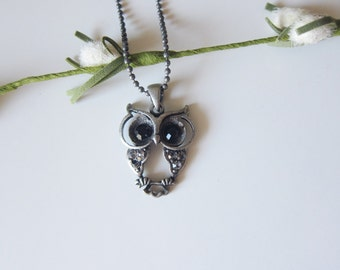 NEW - Baby Hooters - Matte Silver