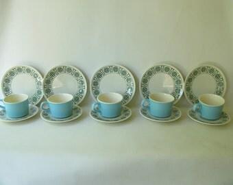 Vintage Taylorstone Kristina dinnerware, set, plate, cup, saucer