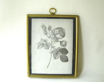 Vintage Brass Frame, 8 x 10, brass