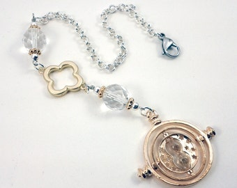 Time Turner Rear View Mirror Charm