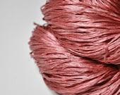Broken brick OOAK  - Silk Tape Lace Yarn - SUMMER EDITION