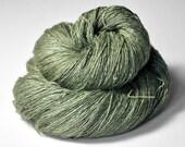 Dried herbs - Tussah Silk Lace Yarn