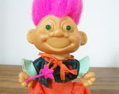 Vintage Troll Doll - Unique Talking and Light Up Eyes Magician Troll - 1992 - Toy Max H K