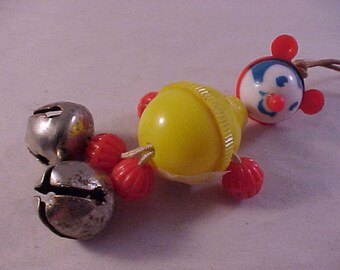 Vintage Plastic Crib Toy