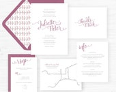 The Juliette Collection | Wedding Invitations - Sample