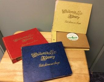 Vintage Children's Records - 78 RPM