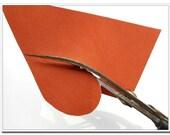 "8"" curve Leather scissors super sharp"