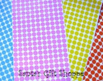 """220 Vinyl Decal 1/2"""" Polka Dot Gloss Sticker Sheet  - 220 Polka Dots - Bachelorette Parties - Birthday Parties - Scrapbooking"""
