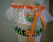 Teenage Mutant Ninja Turtles Wedding Garter Set