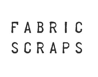 Fabric Scrap Pack - Designer Fabrics Found in Shop - Designer Prints - Cotton Fabric Scraps - 12 OZ